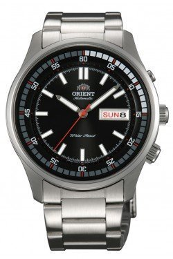 Orient Marshall #EM7E001B Men's Stainless Steel Day/Date 50M Self Winding Automatic Watch