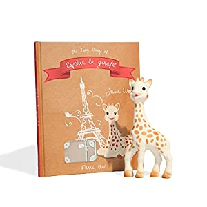 Vulli Sophie the Giraffe Teether and Book Bundle