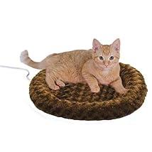 Thermo Kitty Fashion Splash Heated Cat Mat Mocha