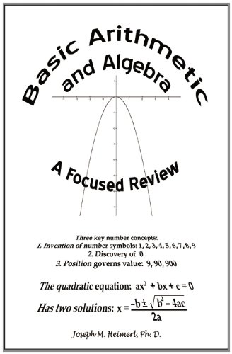 Basic Arithmetic and Algebra: A Focused Review