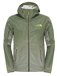 The North Face FuseForm Dot Matrix Jacket - Men\'s Scallion Green Tri Matrix, S
