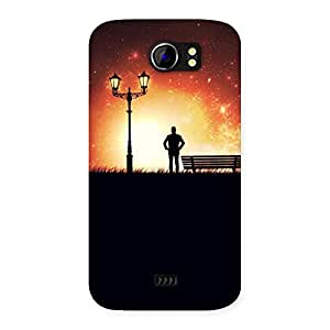Stylish Evening Multicolor Back Case Cover for Micromax Canvas 2 A110