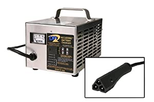48volt 17amp Golf Cart Battery Charger with EZ-Go RXV connector by Accusense Intelligent Charger