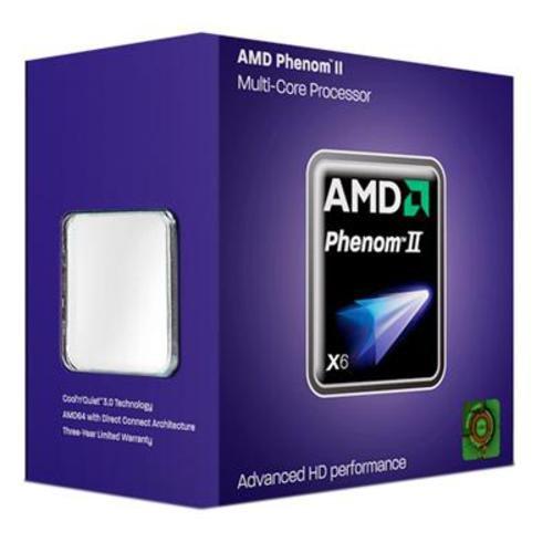 AMD Phenom II X6 1055T Six-core Processor - 2.80 GHz, 9MB Cache, Socket AM3, 125W, 45 nm, 3 Year Warranty, Retail Boxed
