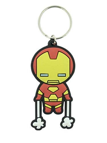 Pyramid International - Marvel Comics Portachiavi In Gomma Kawaii Iron Man 6 Cm
