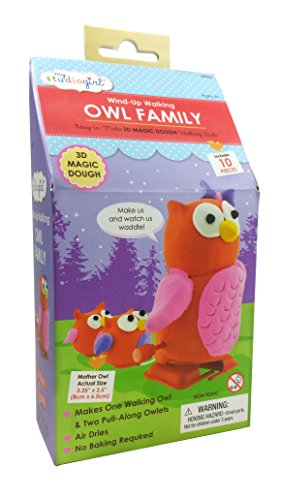 Wind-Up Walking Families - Owl Family