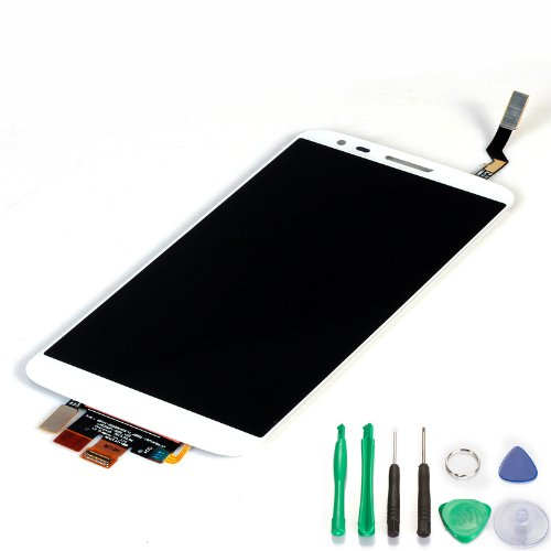 Generic Lcd Display Touch Screen Digitizer Assembly For Lg Optimus G2 D800 D801 D803 (White)