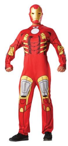 Iron Man? -Kostüm mit Maske für Erwachsene - L