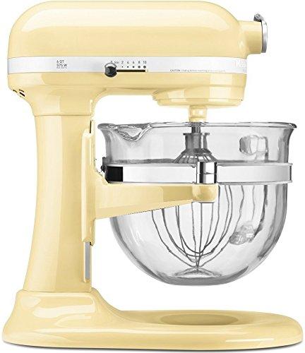 KitchenAid KF26M2XAC 6-Qt. Professional 600 with Glass Bowl Almond Cream (Cream Kitchenaid Mixer compare prices)