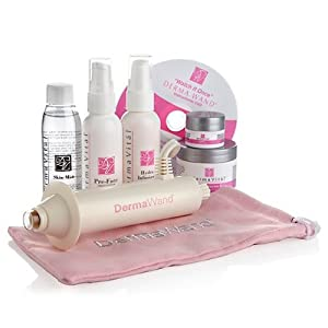 Dermawand Deluxe Renew Kit with 5 Derma Vital Skincare Products - Derma Wand For Wrinkles | Puffy Eyes | Saggy Skin | Non-Surgical Face Lift | High Frequency Machine