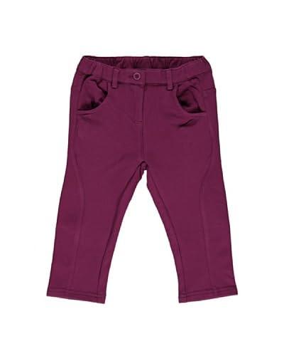 Bimbus Pantalone Elasticizzato Bambina [Ciclamino]