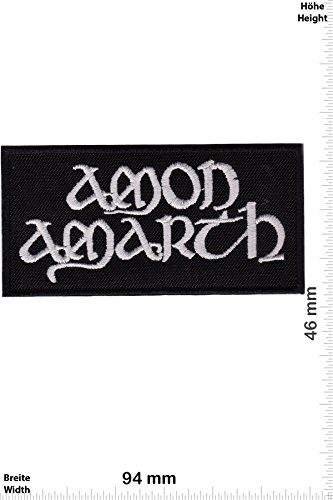 Patch - Amon Amarth -Melodic-Death-Metal-Band - Motorsport - Ralley - Car - Motorbike - Chaleco - toppa - applicazione - Ricamato termo-adesivo - Give Away