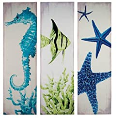 Sea Friends Canvases - Set of 3