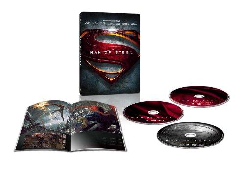 【Amazon.co.jp限定】マン・オブ・スティール ブルーレイ スチールブック仕様(完全数量限定) [Blu-ray]