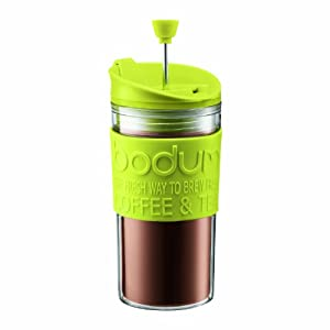 Bodum Travel Press Set Coffee Maker - Lime Green