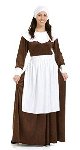 Coslove Peter Alan Pilgrim Woman Adult Costume Size Large 12-14