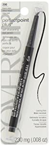 CoverGirl Queen Collection Perfect Point Plus Eyeliner Black Onyx 200, 1 Count