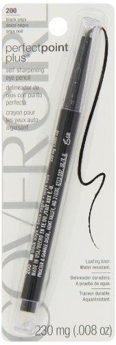 CoverGirl Queen Collection Perfect Point Plus Eyeliner Black Onyx 200, 1 Count (022700632220)