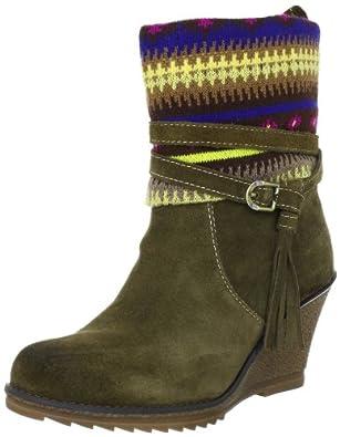 Tamaris TREND 1-1-25412-29, Damen Fashion Halbstiefel & Stiefeletten, Grün (OLIVE 706), EU 37