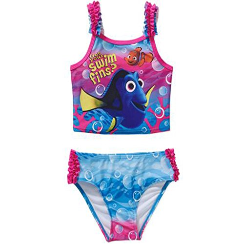 Disney Find Nemo Dory Girls' 2-Piece Tankini