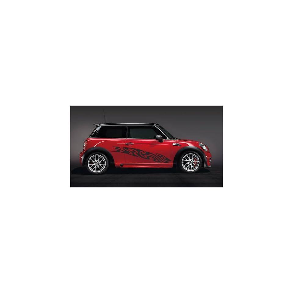 MINI COOPER SMART CUBE BMW CAR VINYL SIDE GRAPHICS