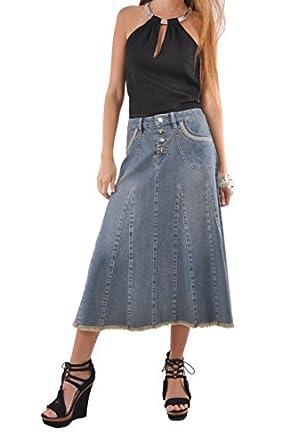 style j grace denim skirt blue 38 18 at