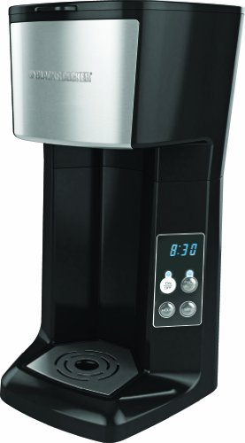 Best Price! Black and Decker CM620B Programmable Single Serve Coffee Maker, Black