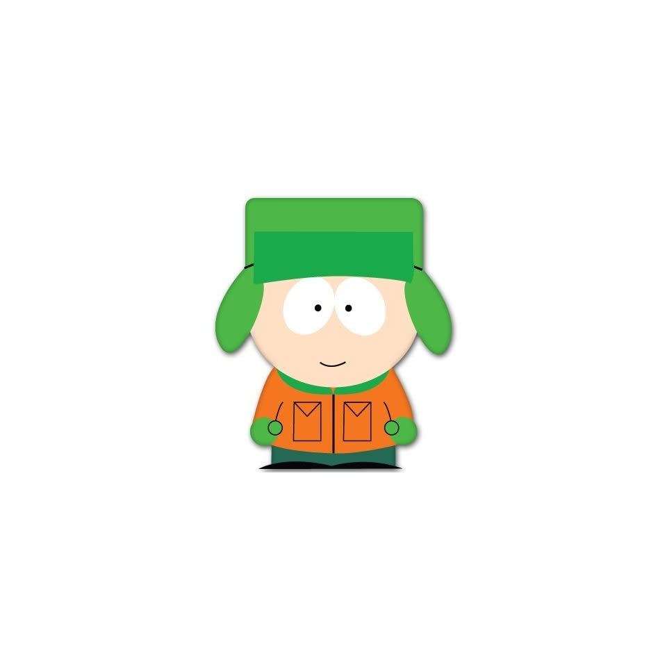 South Park Kyle Broflovski car bumper sticker 4 x 5