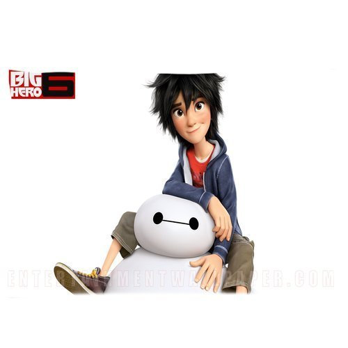 Custom Big Hero 6 Pillowcase Hiro Baymax 20x36 Inches Two Sides Printed Pillow Case Sham Rectangle Cushion Case Cover