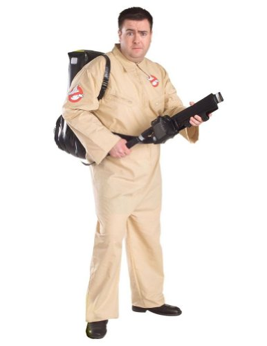 Ghostbuster Adult Plus Adult Mens Costume