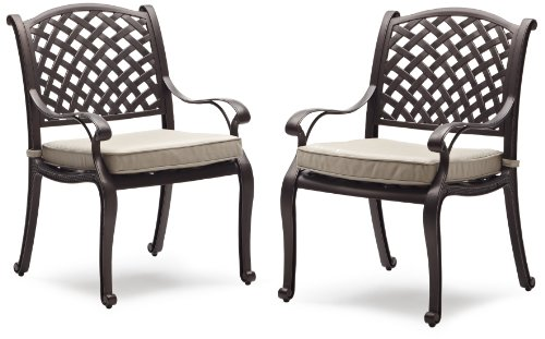 black friday strathwood bainbridge cast aluminum dining chair with
