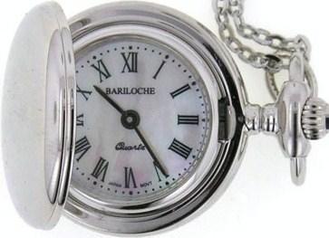 Stainless Steel Pocket Watch by Bariloche 8229CP-M2