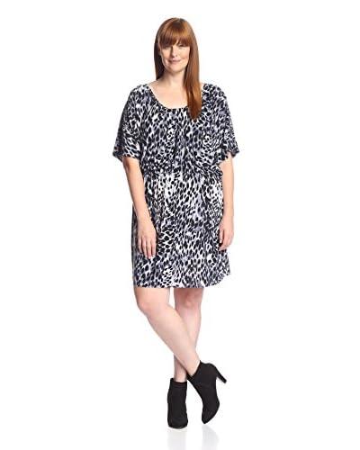 tbagslosangeles Plus Women's Short Sleeve Maxi Dress