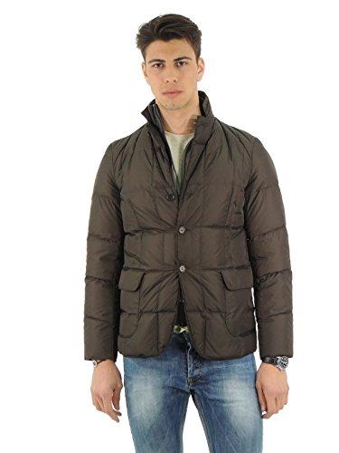 Aspesi Bob Dry giacca uomo blazer trapuntato 101217953 (S, VERDE)