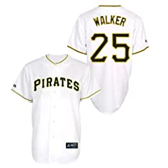 Neil Walker Pittsburgh Pirates Home Ladies Replica Jersey by Majestic by Majestic