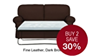 Charlotte Medium Sofa Bed - Leather