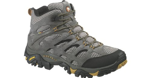 Merrell Men's Moab Ventilator Mid Hiking Boots (10W, Walnut) (Merrell Moab Mid Ventilator compare prices)