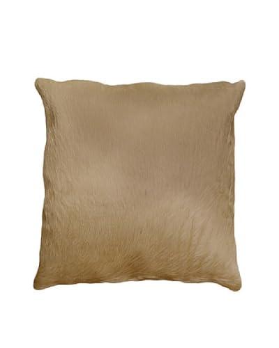 Natural Brand Torino Cowhide Pillow, Natural