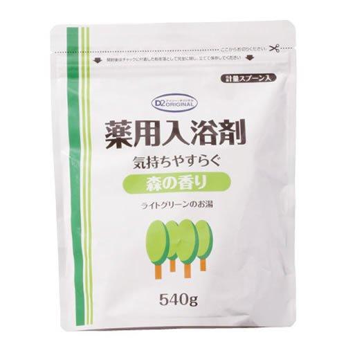 D2オリジナル 薬用入浴剤エコタイプ 540g 森の香り