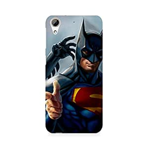 Ebby Superman with Batman Mask Premium Printed Case For HTC 626