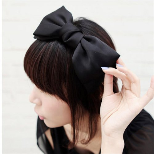 Fashion Sweet Korean Style Big Bowknot Hair Band