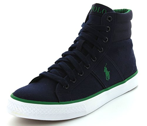 Polo Ralph Lauren Men's Bawtry Fashion Sneaker,Newport Navy,10.5 D US