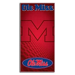 Buy NCAA Mississippi Rebels Emblem Beach Towel, 30 x 60-Inch by Northwest