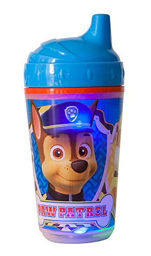 Nickelodeon Paw Patrol Double Wall Led Light Up Sip Cup, Blue - 1