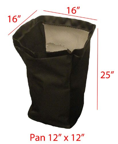 John Deere Power Flo/Pac replacement grass bag. Bag ONLY (John Deere Bagger Parts compare prices)