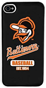Forever Collectibles Baltimore Orioles Retro Hard Snap-On Apple iPhone 4 & 4S... by Forever Collectibles