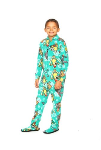 Kids Pajamas With Feet front-840985
