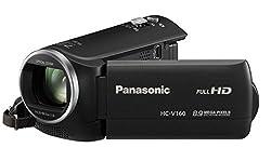 Panasoni HC-V160 Camcorder 8.9 Mega Pixels, 77X Intelligent Zoom With 8gb Card & Carry case