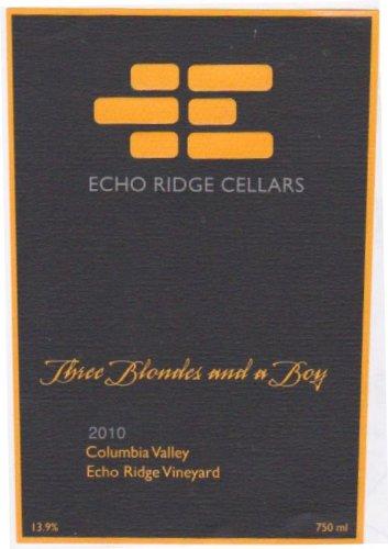 2010 Echo Ridge Cellars Three Blondes And A Boy Red Blend 750 Ml