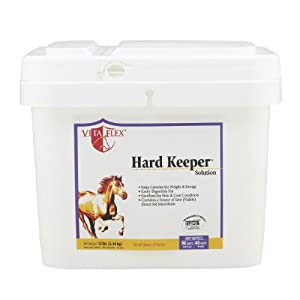 Vita Flex Hard Keeper Skin and Coat Solution for Pets, 12-Pound, 48 Day Supply